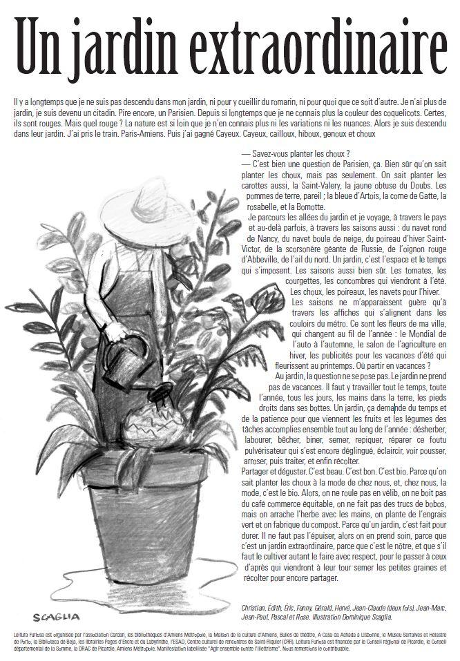 Leitura furiosa 2015 un jardin extraordinaire for Jardin extraordinaire 2015 lieurac