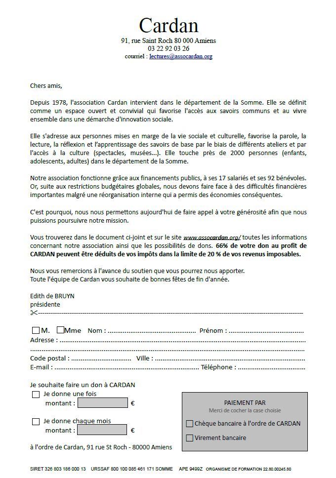 appel au don  u2013 association cardan