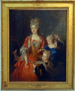 Largilliere-Portrait de Madame Jassaud et ses deux enfants