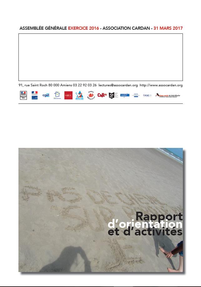 Image de couverture du rapport d'AG 2017